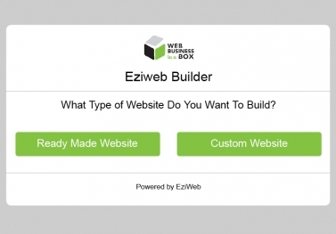 EZIWEB BUILDER SOFTWARE™